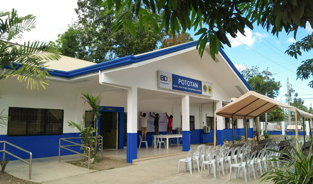 Iloilo, Negros Occidental and Aklan health centers level up